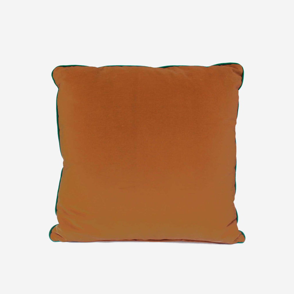 513 Artizen Range | L'Alchemist Collection - Brown & Red Cushion