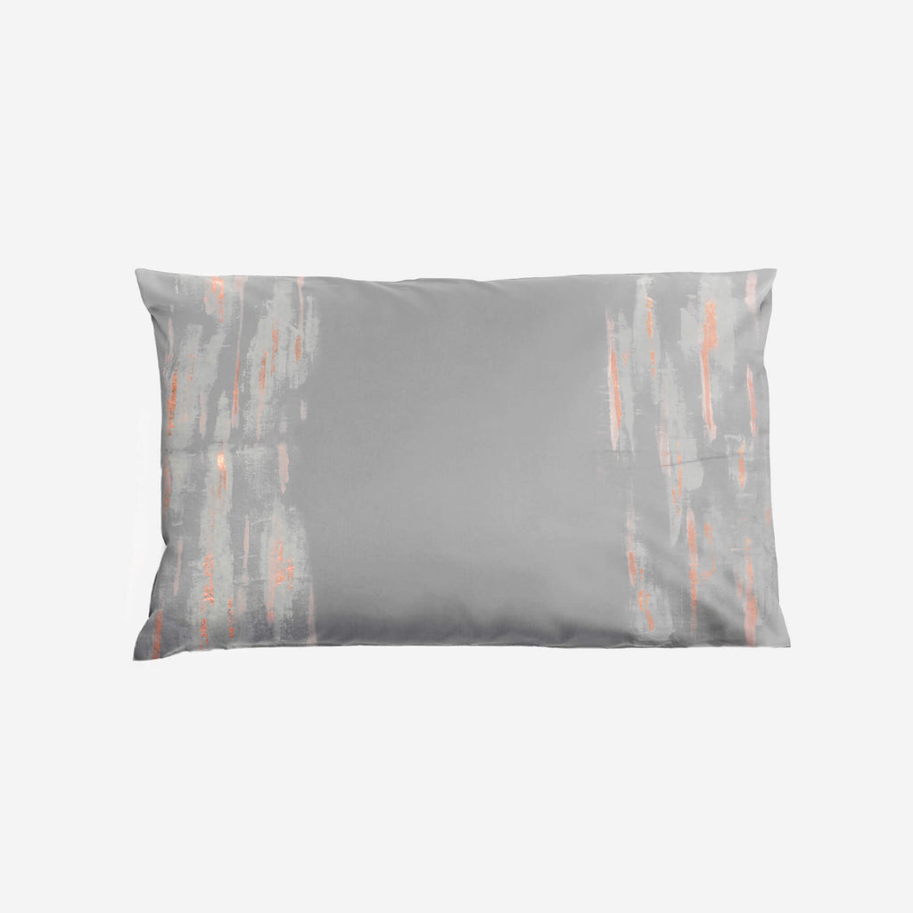 513 Artizen Range | Abstract Art Pillowcase - Pink Copper