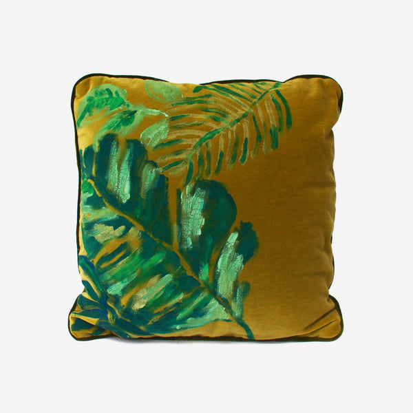 513 Artizen Range | L'Alchemist Collection - Palm leaves Cushion