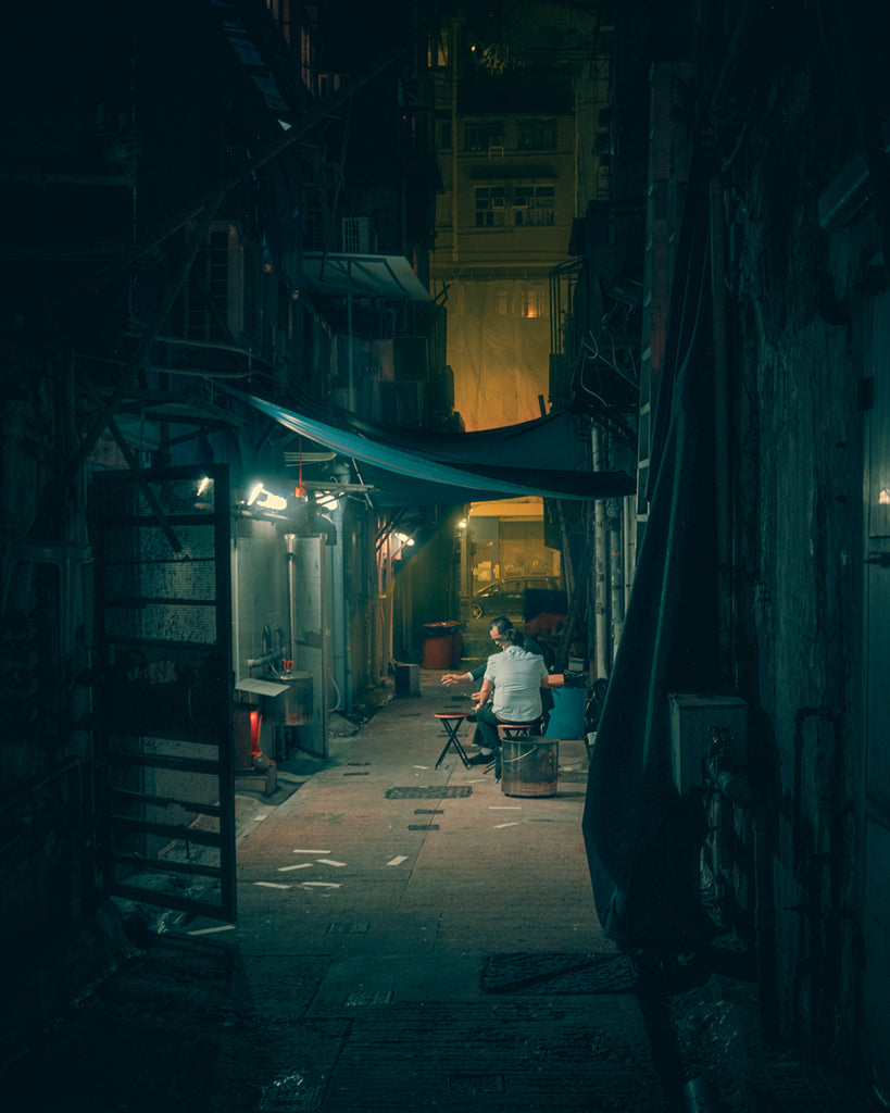midnight HK | Back Alley Meeting