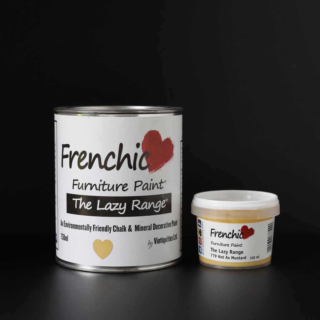 Furniture Paint | The Lazy Range - Hot As Mustard