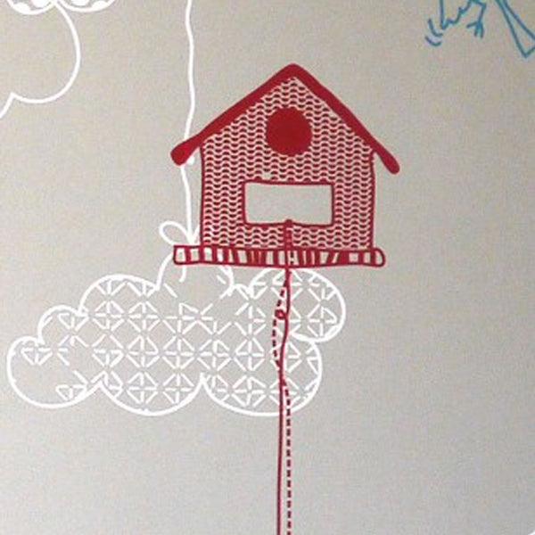 Marguerite & Gribouilli | Birdhouses Wall Sticker