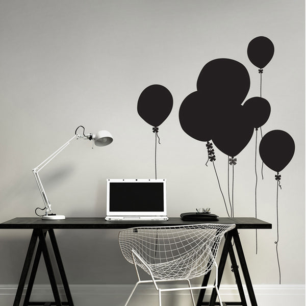 Marguerite & Gribouilli | Happy Ballons Chalkboard Wall Sticker