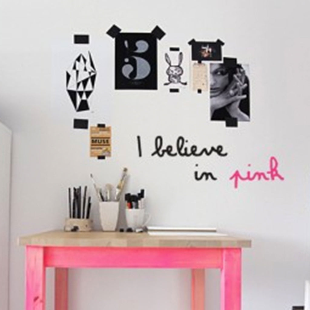 Marguerite & Gribouilli | I believe... Wall Sticker