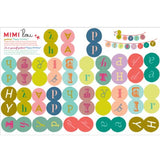Mimi'lou | Garland kits - Happy Birthday sticker
