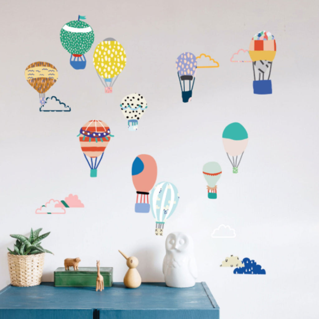 Mimi'lou | Just a touch - Hot air balloons sticker