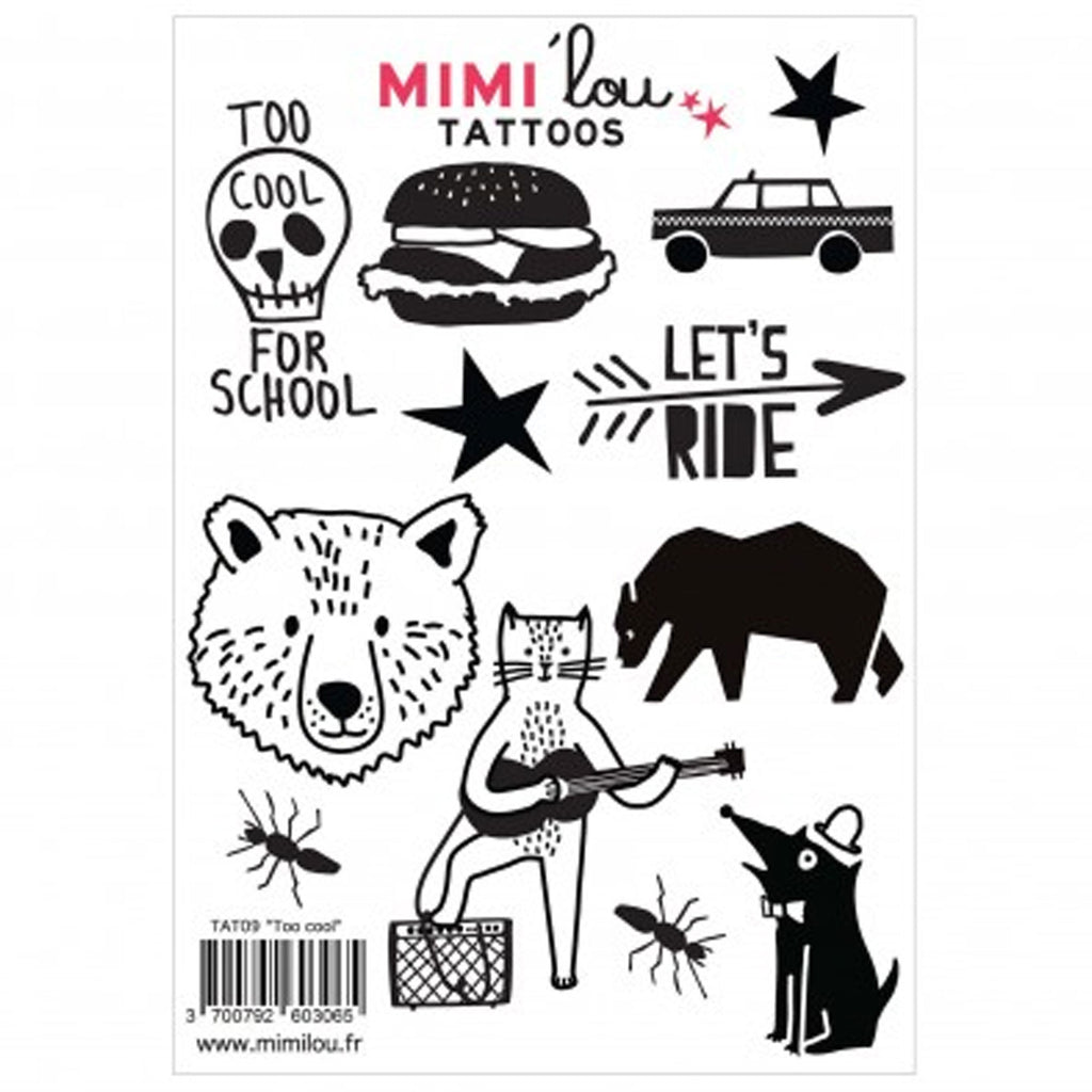 Mimi'lou | Too Cool Tattoos sticker