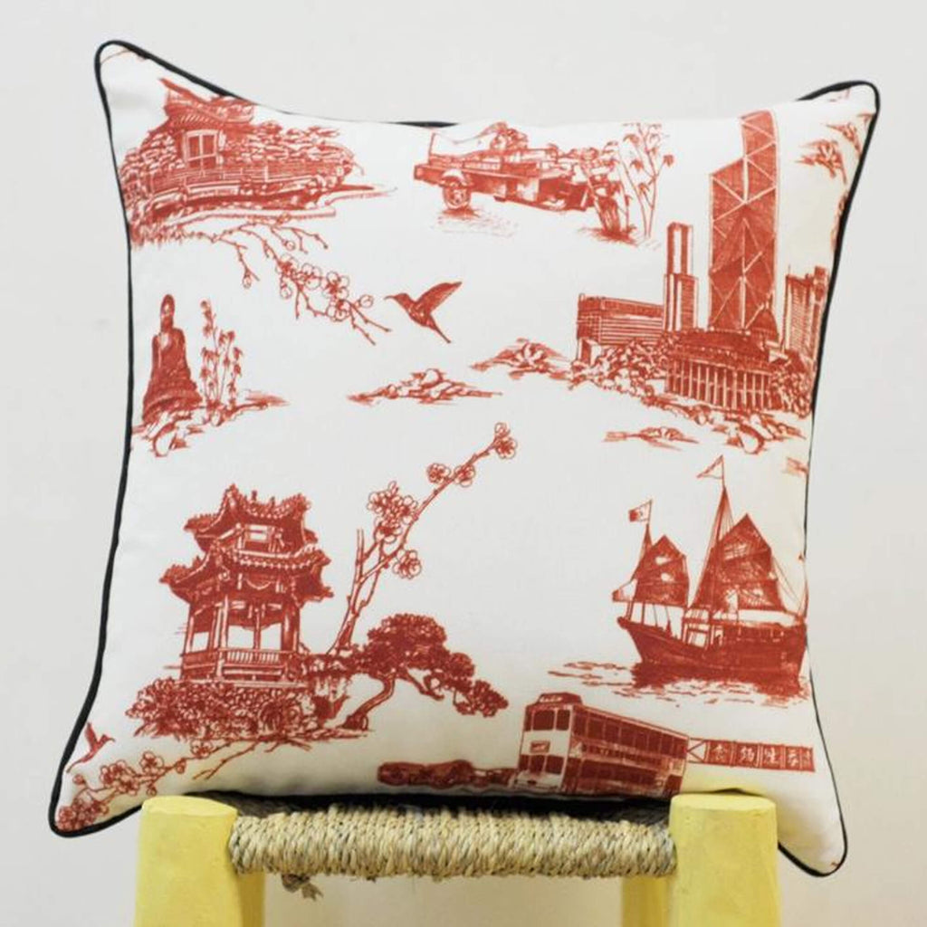 Works of Wonder | Cushion - China Red