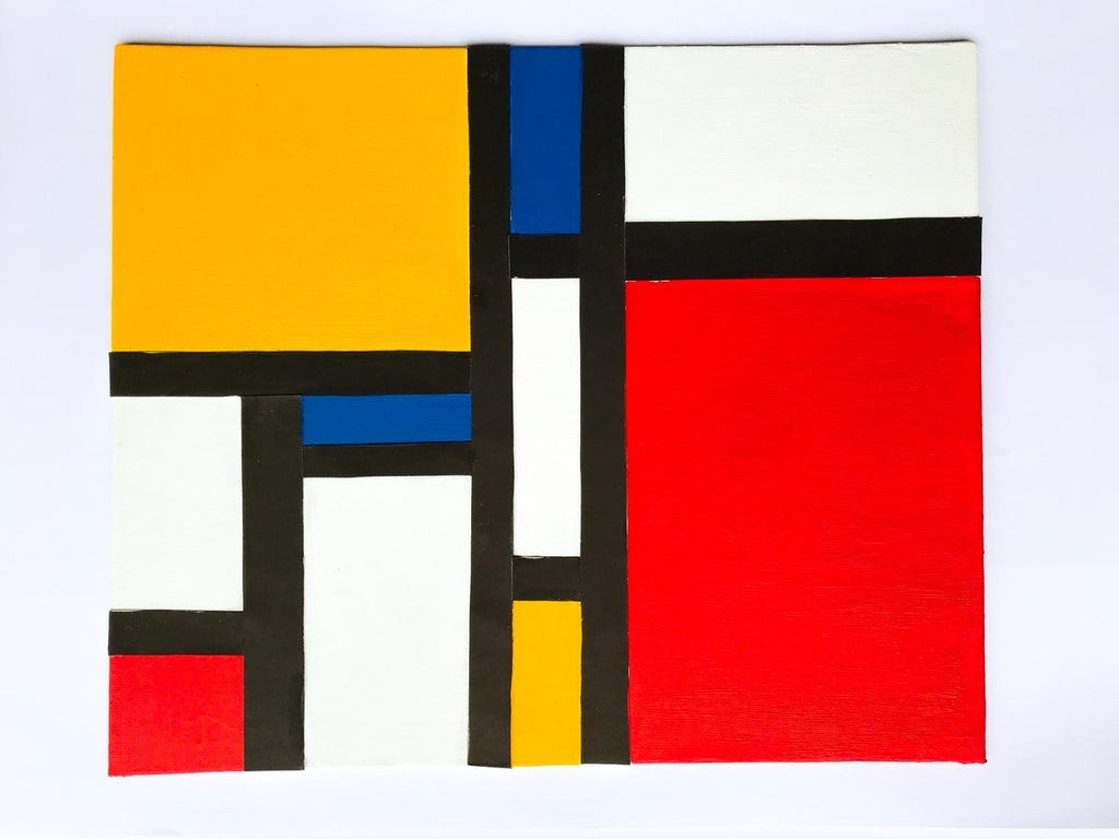 Summer Workshops Masterpiece-Piet Mondrian