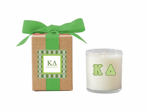 KD - Kappa Delta - LuminousLetters™ Greek Candle