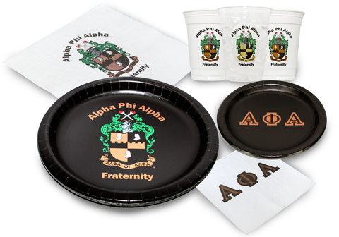 APA - Alpha Phi Alpha - Party Pack (White Cups)
