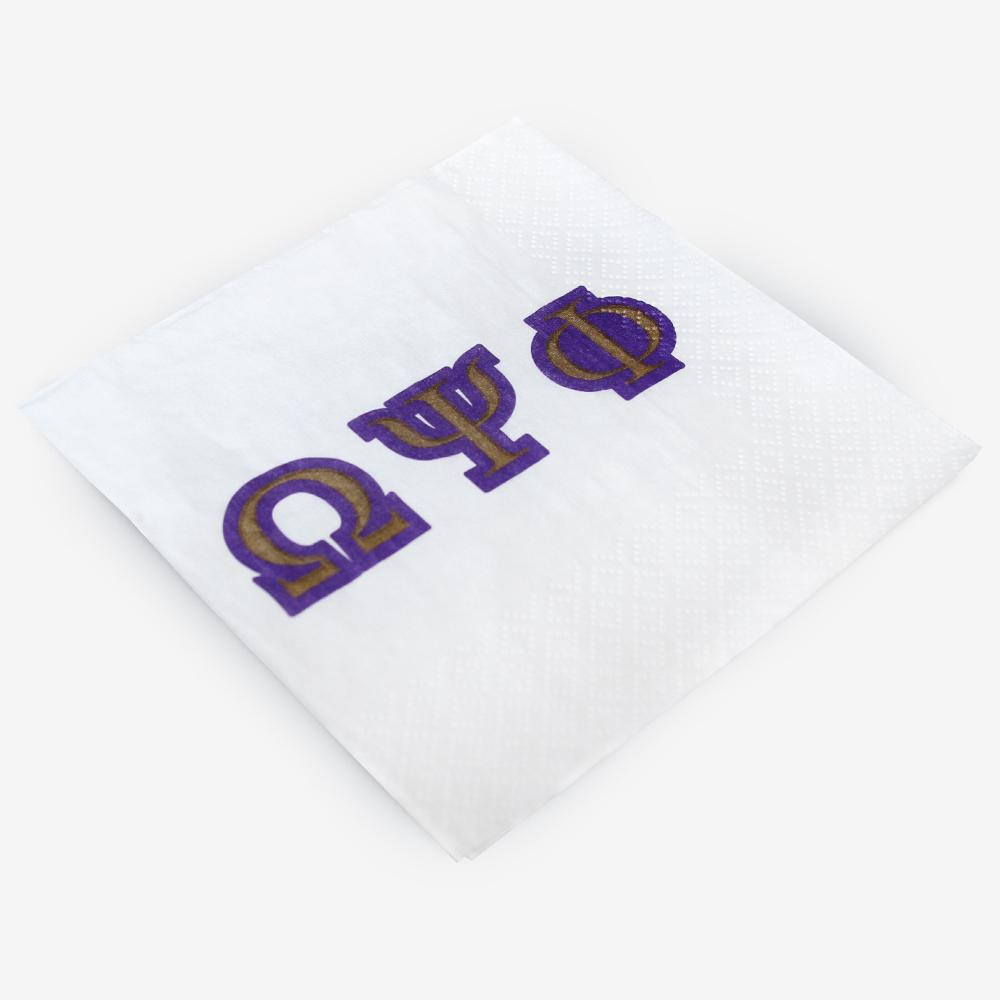 OPP - Omega Psi Phi - Beverage Napkins (20ct)