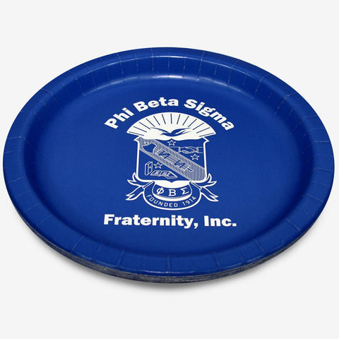 "PBS - Phi Beta Sigma - 10.25"" Plate (8ct)"
