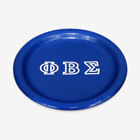 "PBS - Phi Beta Sigma - 7"" Plate (8ct)"