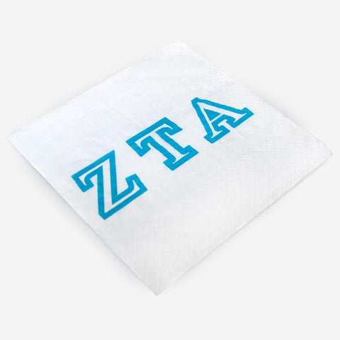 ZTA - Zeta Tau Alpha - Beverage Napkins (20ct)