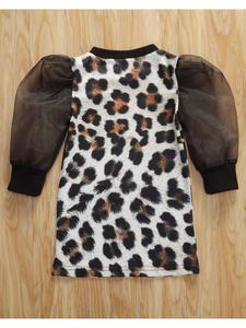 Kenzie's Leopard Dress