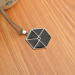 'EXO Kaiser Star' Necklace, - Koreanbae