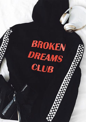 'Broken Dreams Club, Like A Virgin' Hoodie, - Koreanbae