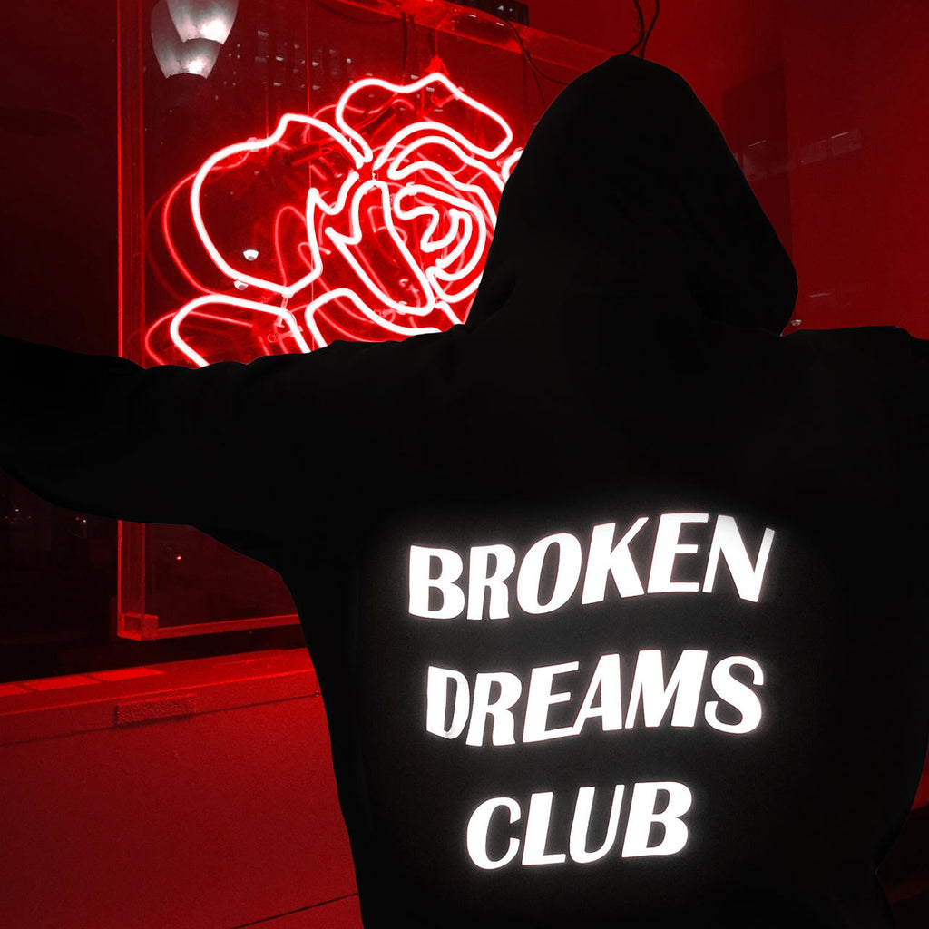 'Broken Dream Club' Hoodie, - Koreanbae