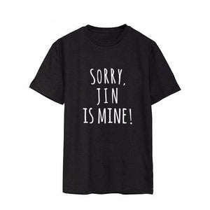 'BTS is mine' T-Shirt, - Koreanbae