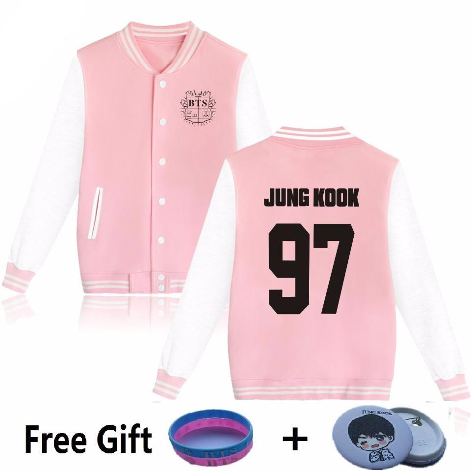 'BTS Baseball Uniform' Jacket, - Koreanbae