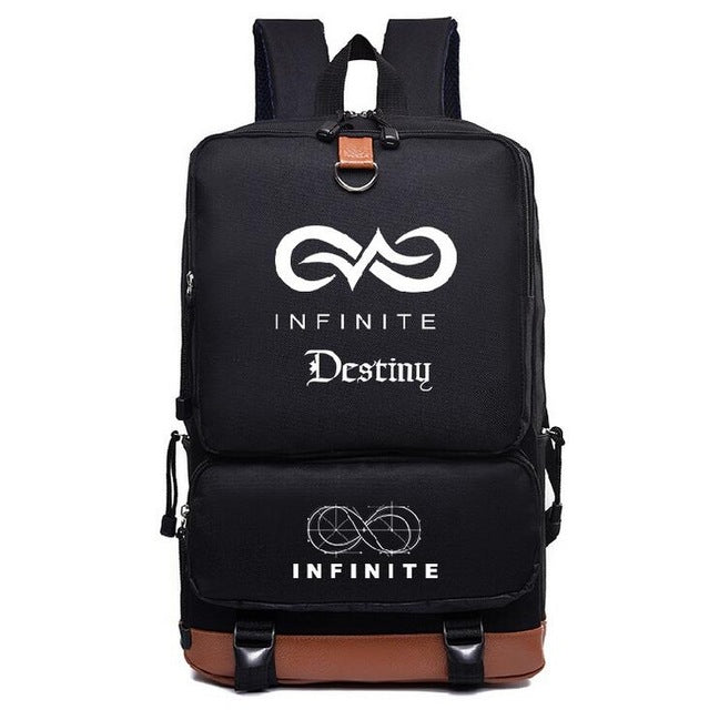 'KPOP BTS GOT7 EXO TWICE MONSTA X INFINITE' Backpack, - Koreanbae