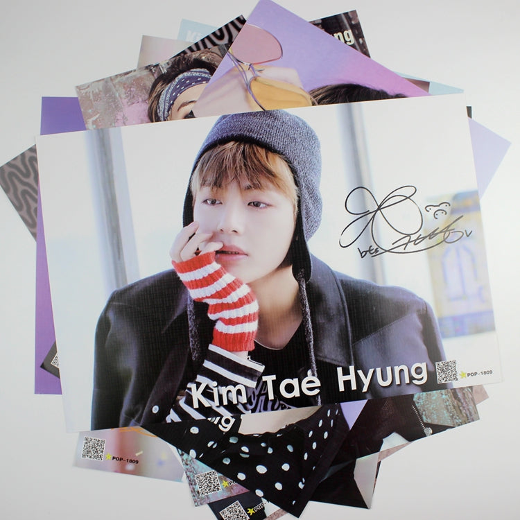 'BTS WINGS' Posters (8pcs Set / 42x29cm), - Koreanbae