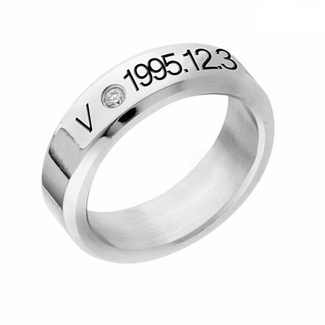 'BTS Birthday' Ring, - Koreanbae