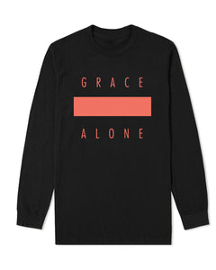 Grace Alone Black longsleeve
