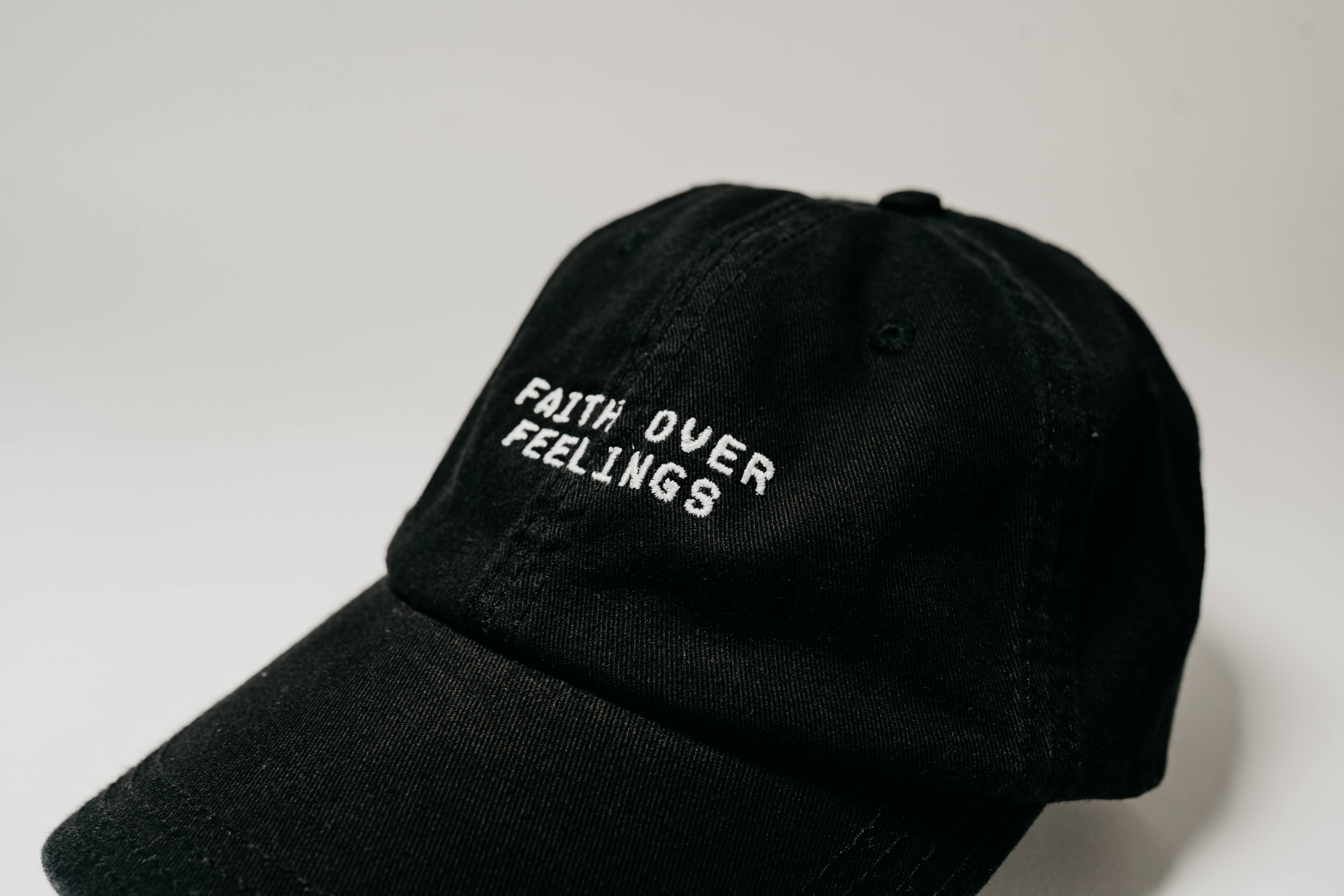 Faith Over Feelings Dad Hat