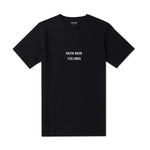 Faith Over Feelings Black Tee