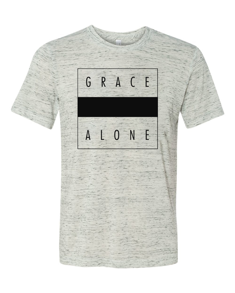 Grace Alone Marble Tee