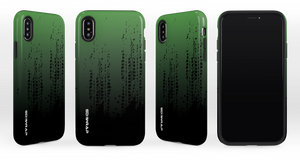 GTR Green/Black FADED iPhone Case