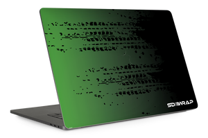 GTR Green/Black MacBook Pro 15'' Skin
