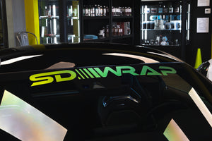 SD Wrap GTR1.0 Windshield Decals