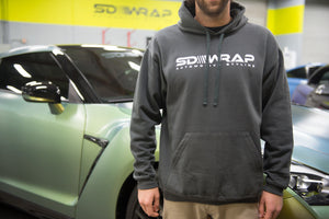 SD Wrap Charcoal Hoodie