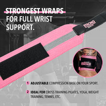 Wrist Wrap Glove - STRONG WOMAN