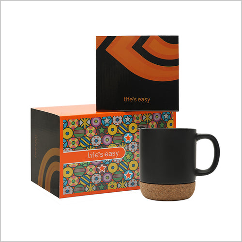 Life's Easy Ceramic Mug Gift Set (12 oz)