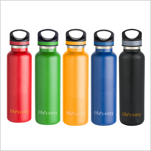 Life's Easy Stainless Steel Water Bottle (20 oz)