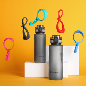 OHMY FIT Magnetic Tritan Sports Water Bottle