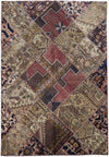6 x 8 Modern Persian Patchwork Rug