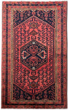 4 x 7 Persian Zanjan Tribal Rug