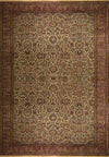5 x 8 Antique Persian Kashan Rug - Rugs.net