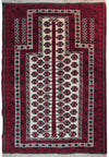3 x 5 Persian Baluch Tribal Rug