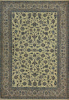 7 x 10 Classic All-Over Fine Persian Nain 9 LAA Wool & Silk Rug