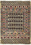 "3'8"" x 5'4"" Antique Persian Baluch Rug"