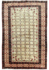 "3'8"" x 5'7"" Persian Hamedan Open-Field  Rug"