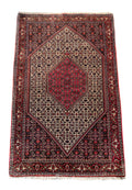 4 x 6 Persian Bijar Iron Rug