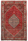 "3'5"" x 6 Persian Bijar Iron Rug"