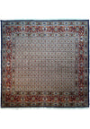 "6'6"" x 6'6"" Persian Moud Square All Over Design Rug"